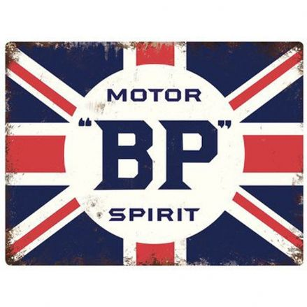 BP 'Spirit of Motoring' - Metal Wall Sign